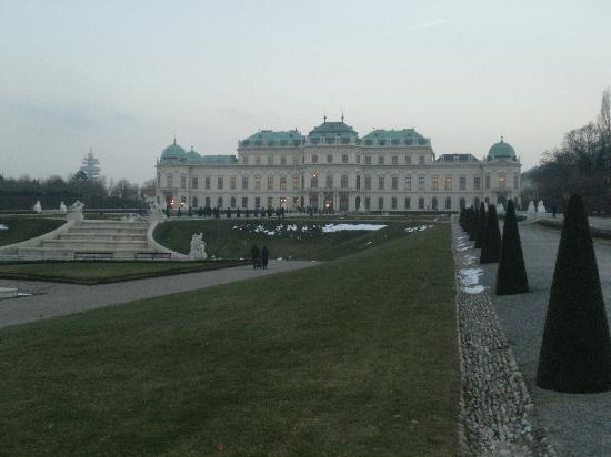Viena, Austria: Belvedere Palace