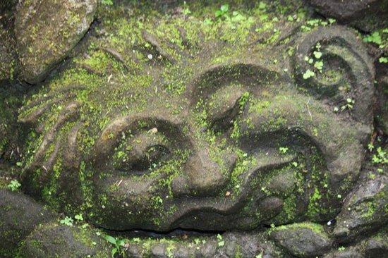 Museo de Arte Angung Rai (ARMA): Wall sculpture
