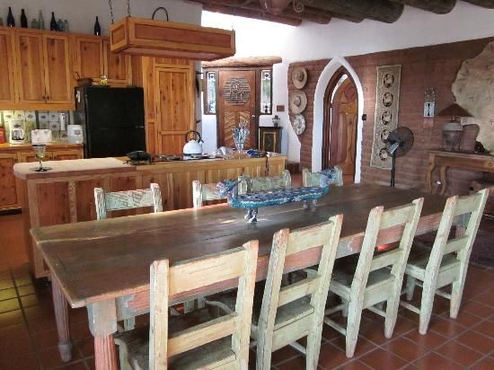 Crystal Mesa Farm B&B: The great dining room