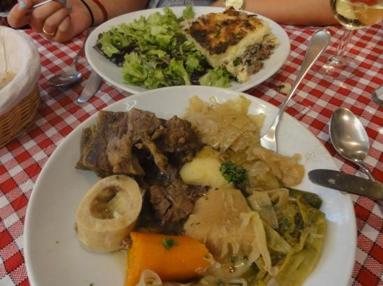 Le Roi du Pot au Feu : beef stew