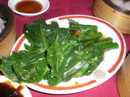 Chuen Cheng Ku : Boiled baby Chinese Broccoli, aka Gai Lan