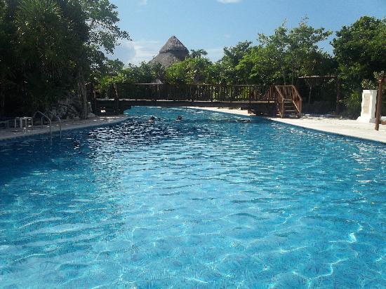 Grand Sirenis Riviera Maya Resort & Spa: One of the Hotel Pools - the quiet zone