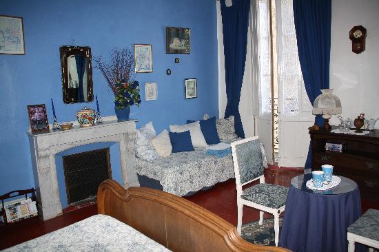 Maison Eloi Merle : Chambre bleue