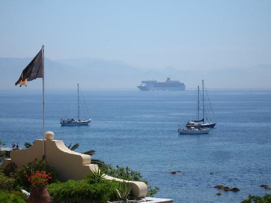 Corfu Palace Hotel : Blick vom Balkon  III