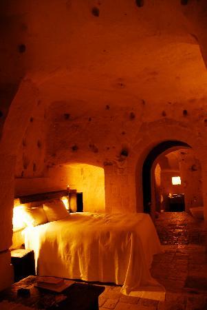 โรงแรม เซกตานติโอ เล กรอตเต เดลลา ซิวิตา: Our room