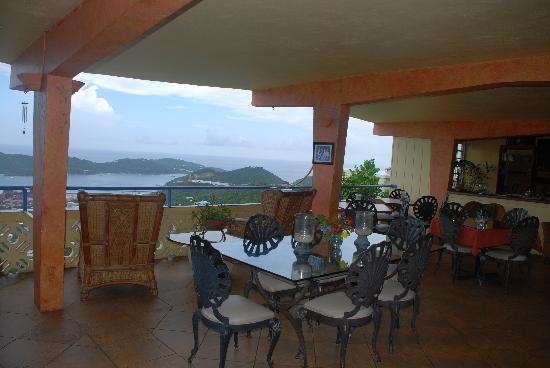 Island View Guest House : The Veranda and view beyond
