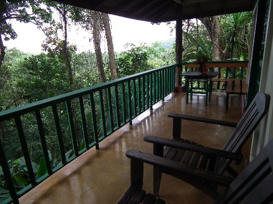 Hotel Villas Gaia: Terrasse