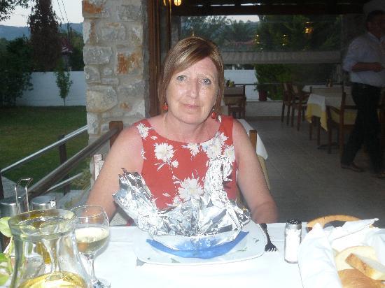 Calma Restaurant : lamb kleftico swan style