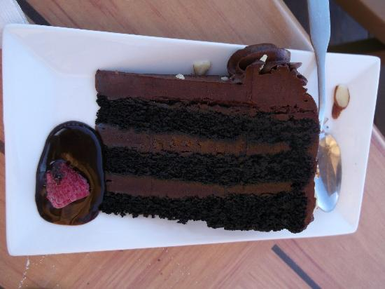 Cooper's at Bear Lake West Restaurant and Sports Bar : best chocolate cake ever