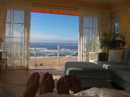 Meerblick Vom Bett Aus Picture Of Haus Am Strand On The Beach