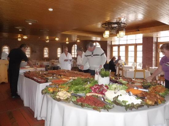 Hotel & Spa Termas Cacheuta: Almuerzo