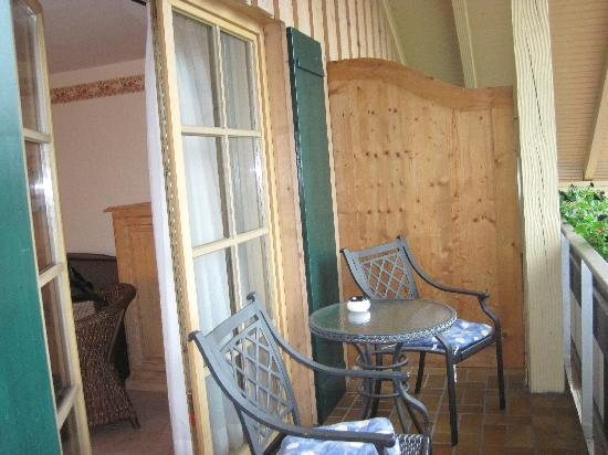 Landhotel Guglhupf: Balcony