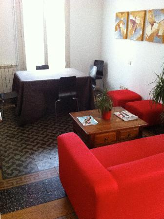 Apartments Gran Via: lounge area