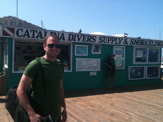 Catalina Divers Supply : Their shop on the pier.