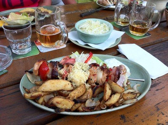 Krcma Barbakan : my dinner