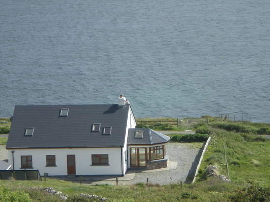 Clifden Bay Lodge: Clifdenbaylodge sur la lower sky road