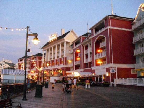 Disney's BoardWalk Inn: Boardwalk Inn view