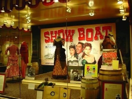 Ava Gardner Museum: Showboat Exhibit