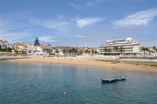 Hotel Baia: the hotel, viewed from the fishing pier