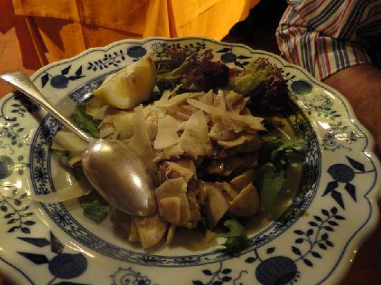 Taverna dello Spuntino: porcini all'insalata