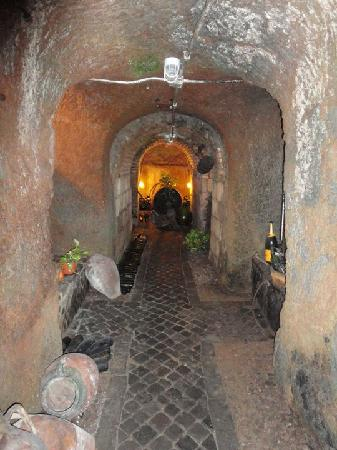 Grottaferrata, Italien: la cantina