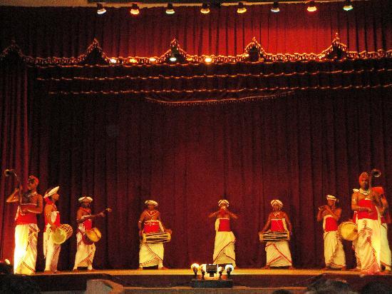 Kandyan Dance Performance: The Drummers.