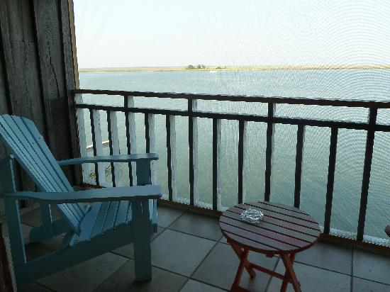 Apalachicola River Inn: view from private balcony