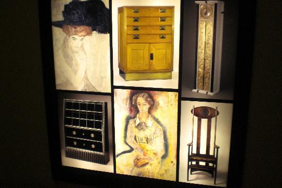 Neue Galerie: Ausstellungs Querschnitt