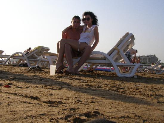 Seher Sun Palace Resort and Spa : beach near the sea