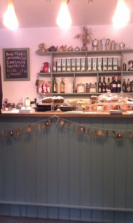 Conwy Falls Cafe: The main counter