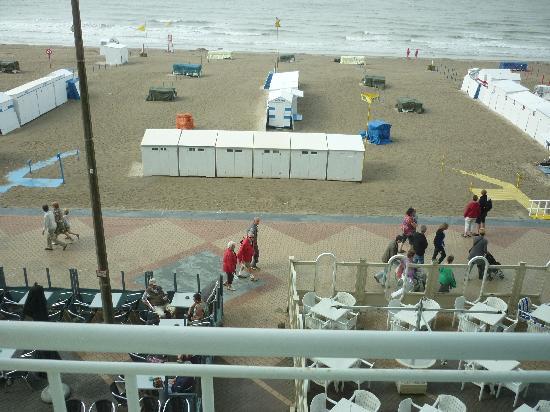 Beach Palace Hotel : vue de la chambre