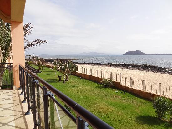 Gran Hotel Atlantis Bahia Real: Vistas desde la terrza