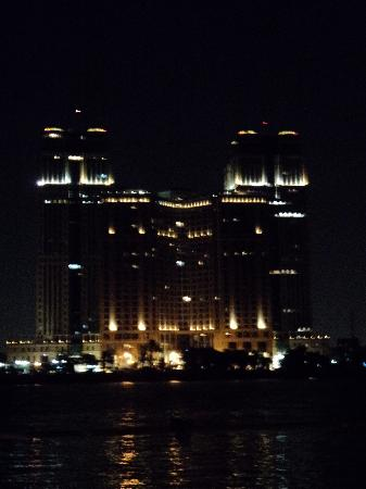 Fairmont Nile City: A view of the hotel from across the Nile