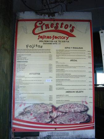 Ernesto's Fajitas