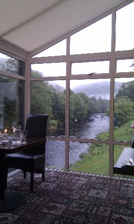 Riverside Restaurant: View from restaurant over the river