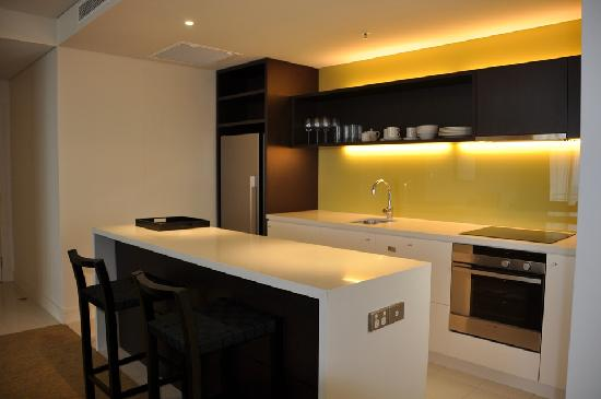 Port Moresby, Papua Yeni Gine: 1 Bedroom apartment kitchen
