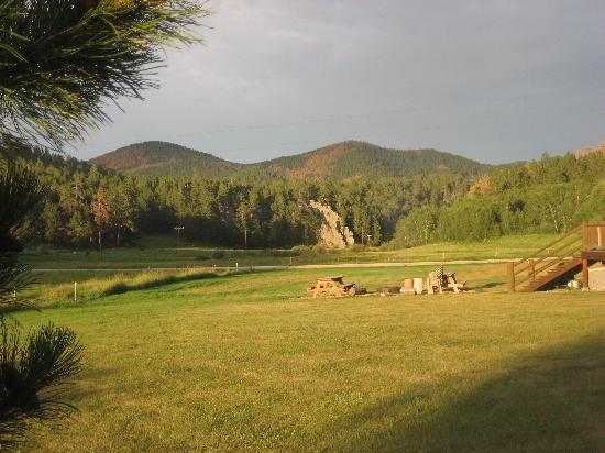 High Country Guest Ranch: View from our campfire ring