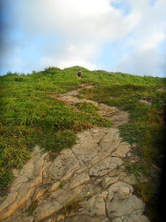Zipolite: subiendo a Punta Cometa