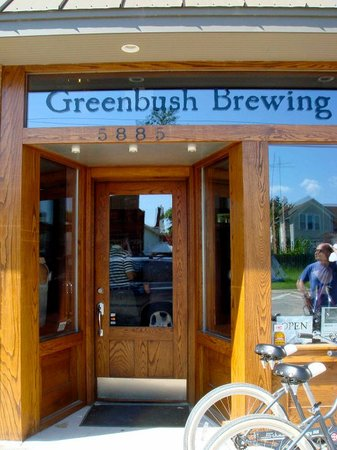 Greenbush Brewing Company: Beautiful Entrance