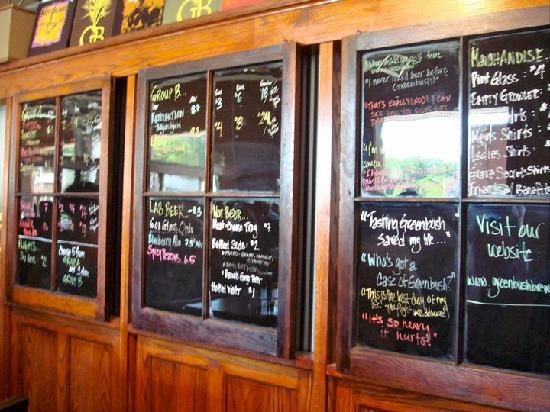 Greenbush Brewing Company: Eclectic Taplist