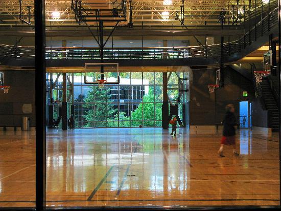 Hotel Bellevue : indoor court