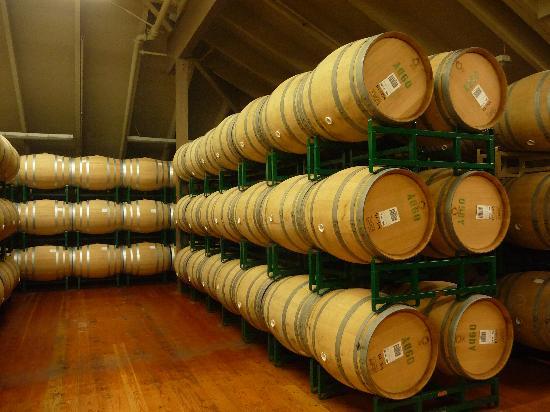 Simi Winery: barrels