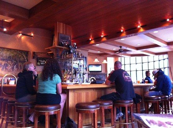 Bar Area Picture Of Dancing Bears Restaurant Lake Placid