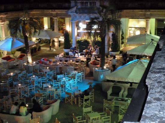 Grand Hotel Plaza & Locanda Maggiore: View od music bar