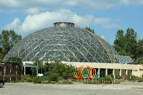 Garden Dome Picture of Greater Des Moines Botanical Garden Des