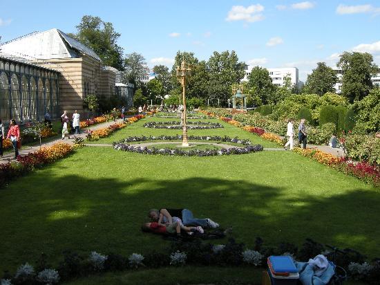 Wilhelma Zoo and Botanical Garden: Wilhelma gardens