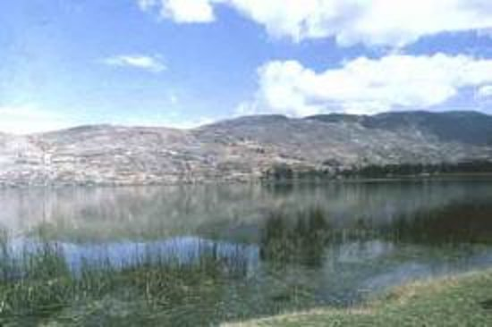 Junín, Perú: Vista de la Laguna de Paca - Jauja