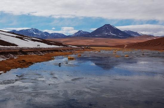 San Pedro de Atacama, Chile: puente rio putana