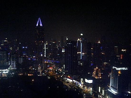 โรงแรมเลอ รอยัล เมอริเดียน เซี่ยงไฮ้: View from my hotel room on one trip