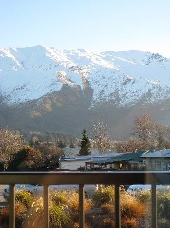 Clearbrook Motel Wanaka : view from balcony
